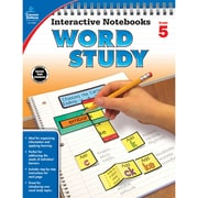 Carson-Dellosa Interactive Notebooks: Word Study Resource Book, Grade 5 (CD-104951)