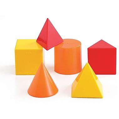 Learning Advantage Geometric Solids Introductory Set, Set of 6 (CTU21314)