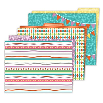 Carson-Dellosa Up and Away File Folders, 6 Packs, 6 Per pack, 36 Total File Folders (CD-136017)