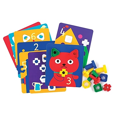Learning Advantage Nuts & Bolts Activity Cards (CTU50169)
