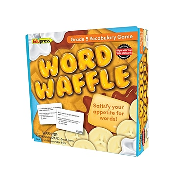 Teacher Created Resources Word Waffle Game, Grade 5 (EP-2096)