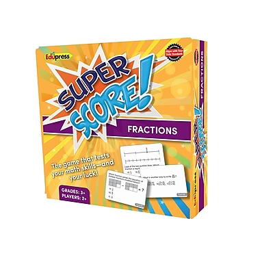 Teacher Created Resources Super Score Game, Fractions, Grade 3+ (EP-2083)