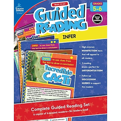 Carson-Dellosa Guided Reading: Infer, Grades 5-6 (CD-104925)