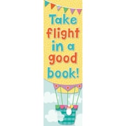 Carson-Dellosa Up and Away Bookmarks, 30 Per Pack, Bundle of 12 Packs (CD-103154)