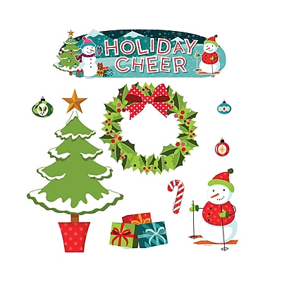Teacher Created Resources Holiday Cheer Mini Bulletin Board Set (EP-2394)