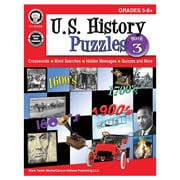 Carson-Dellosa U.S. History Puzzles, Book 3 Resource Book, Grades 5-8 (CD-404266)