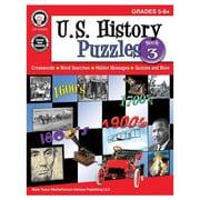 Carson-Dellosa U.S. History Puzzles, Book 3 Resource Book, Grades 5-8 (CD-404266)