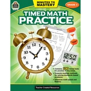 Teacher Created Resources Minutes to Mastery - Timed Math Practice Grade 3 (TCR8082)