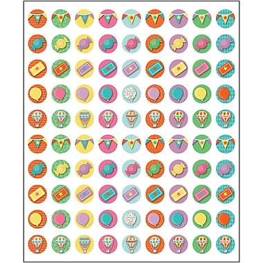 Carson-Dellosa Up and Away Chart Seals, 810 Per Pack, Bundle of 12 Packs (CD-168243)