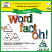 Learning Advantage word-fact-oh Analogies Game (CTU2191)
