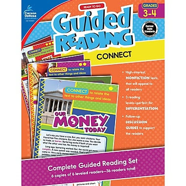 Carson-Dellosa Guided Reading: Connect, Grades 3-4 (CD-104927)