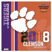 Clemson Tigers 2018 12X12 Team Wall Calendar (18998011798)