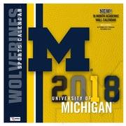 Michigan State Spartans 2018 12X12 Team Wall Calendar (18998011831)