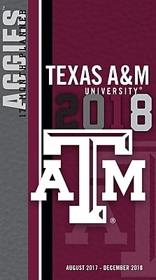 Texas A&M Aggies 2017-18 17-Month Planner (18998890521)