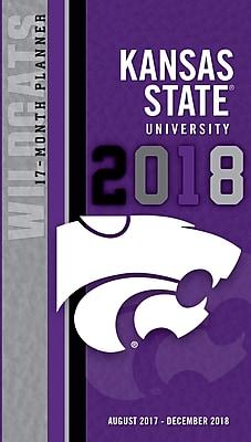 Kansas State Wildcats 2017-18 17-Month Planner (18998890510)