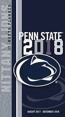 Penn State Nittany Lions 2017-18 17-Month Planner (18998890518)