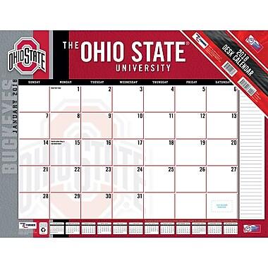 Ohio State Buckeyes 2018 22x17 Desk Calendar 18998061494