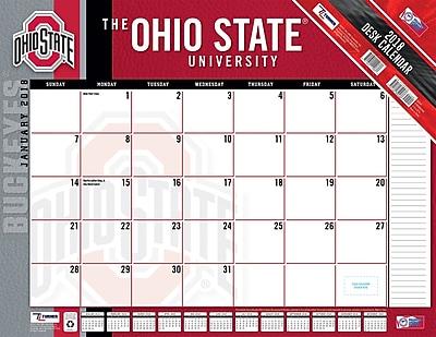 Ohio State Buckeyes 2018 22X17 Desk Calendar (18998061494)