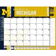 Michigan Wolverines 2018 22X17 Desk Calendar (18998061483)