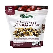 Hickory Harvest Fitness Mix, Cranberry,1 oz., 8 Bags/Pack, 3/Pack (220-00936)