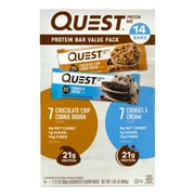 Quest Protein Bar Variety Value Pack, 14 Count (220-00966)