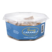 Heavenly Caramels Soft & Delicious Vanilla Sea Salt Caramels Tub, 45 Count (220-00988)