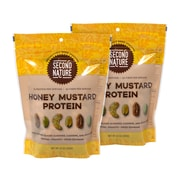 Second Nature Honey Mustard Protein Nut Mix, 10 Oz, 2 Pack (288-00014)