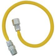"""Brasscraft Cssd54-60 Gas Dryer & Water Heater Flex-line (1/2"""" Od X 60"""" (1/2"""" Fip X 1/2"""" Mip)"""