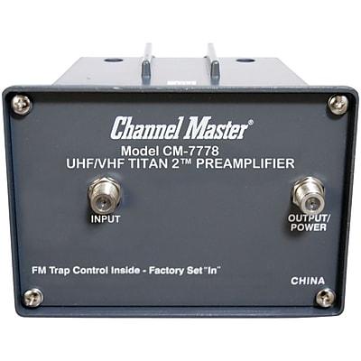 Channel Master Cm-7778 Titan 2 Preamp (medium Gain)