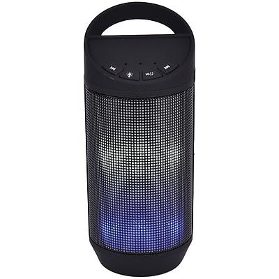 Sylvania Sp606-black Bluetooth Neon Light-up Speaker