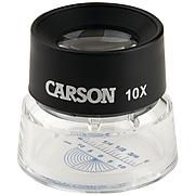 Carson Optical LumiLoupe 10x Magnifier, (LL-20)