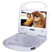 "Sylvania Sdvd1052-silver 10"" Portable Dvd Player With Integrated Handle (silver)"