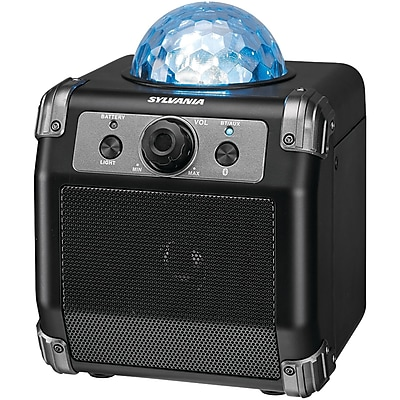 Sylvania Sp613 Disco Ball Bluetooth Portable Speaker