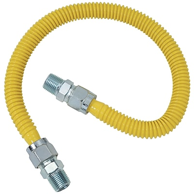 Brasscraft Cssc44-48 Gas Range & Gas Furnace Flex-line (5/8