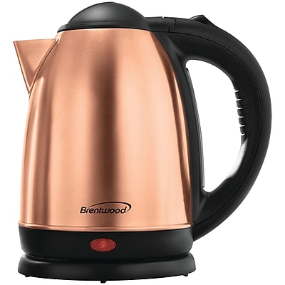 Brentwood Kt-1790rg Electric Stainless Steel Kettle (1.7 Liter)