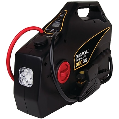 Duracell Drjs30 Portable Emergency Jump Starter (900 Amps Peak; 8 Cylinders & Below)