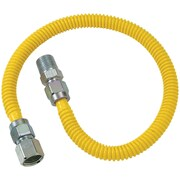 "Brasscraft Cssl54-60 Gas Dryer & Water Heater Flex-line (3/8"" Od (1/2"" Fip X 1/2"" Mip) X 60"")"
