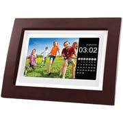 "Sylvania Sdpf1092 10""-class Digital Photo Wooden Frame With Remote"