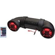 """Bazooka Atv-tube Ut6200rl 450-watt Bluetooth Atv/marine Speaker System (6"""", With Remote & Led Rgb Lights)"""