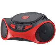 Sylvania Srcd1063bt-red Bluetooth Portable Cd Radio Boom Box (red)