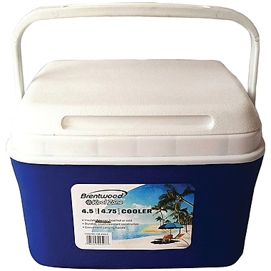 Brentwood Kool Zone Cb-450ls 4.5-liter Cooler Box