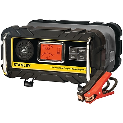 Stanley Tools Battery Charger/Maintainer with Engine Start