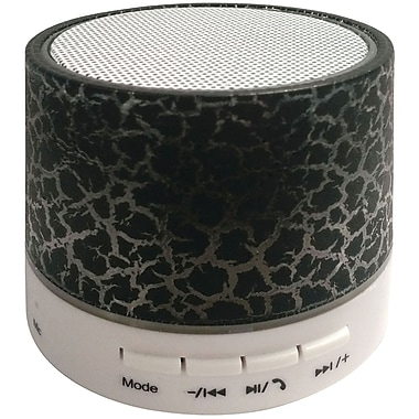 Sylvania Sp637-black Bluetooth Lighted Portable Speaker (black)