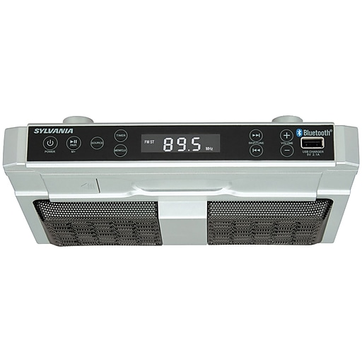Sylvania Skcr2810bt Bluetooth Under Cabinet Kitchen Radio Https Www Staples 3p S7 Is