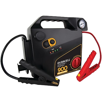 Duracell Drjs30c Jump Starter With Air Compressor (900 Peak Amps; 8 Cylinders)