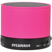 Sylvania Sp631-pink Bluetooth Portable Speaker (pink)