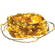 Axis 25016 Metallic Gold Led Micro-dot String Lights (65ft)