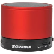 Sylvania Sp631-red Bluetooth Portable Speaker (red)