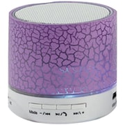 Sylvania Sp637-purple Bluetooth Lighted Portable Speaker (purple)
