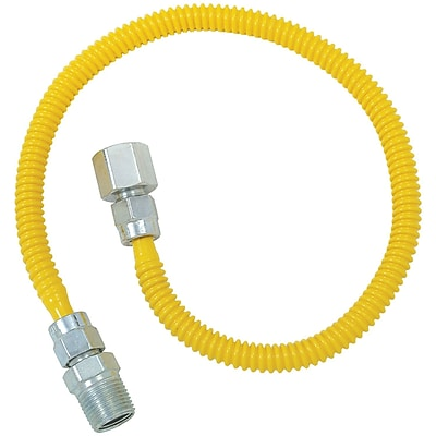 Brasscraft Cssl54-36 Gas Dryer & Water Heater Flex-line (3/8